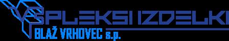 PLEKSI IZDELKI Blaž Vrhovec s.p. Logo